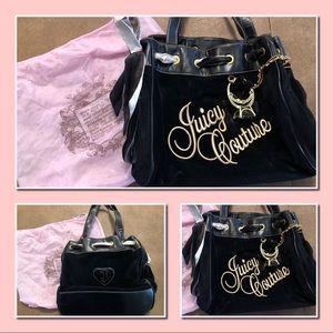 EUC Gently used Juicy Couture Black Handbag